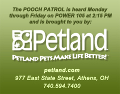 Brought to you by Petland on Power 105
